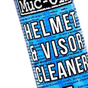 MUC-OFF VISOR, LENS & GOGGLE CLEANER PREMIUM CLEANERS 32 ML 120ML BOTTLES