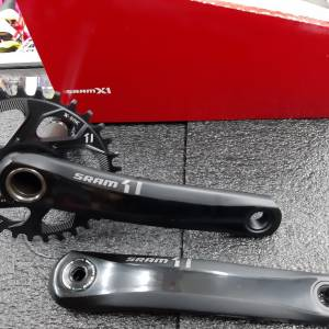 SRAM X1 1400 GXP AM- 1x11 - 175mm 32T Crankset Without Bottom Bracket