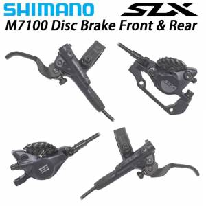 SHIMANO SLX M7120 HYDRAULIC DISC BRAKE LEVER 4-PISTON CALIPER SET BR-M7120+BL-M7100 ICE TECH DEORE