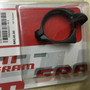 Sram Braze-on adaptor 34.9mm Black