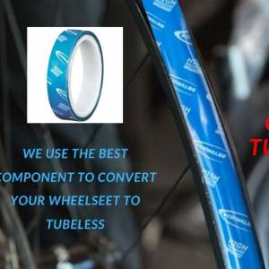 TUBELESS CONVERSION by MTB ONLINE SEREMBAN