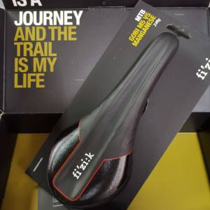 Fizik Gobi Vs M5 Manganese Rail Red Line