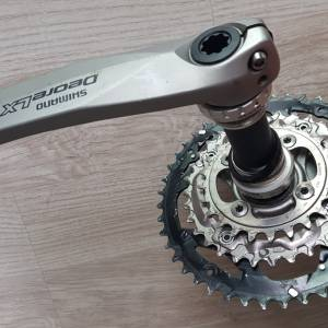 Shimano Deore LX triple Crank set for 9 speed