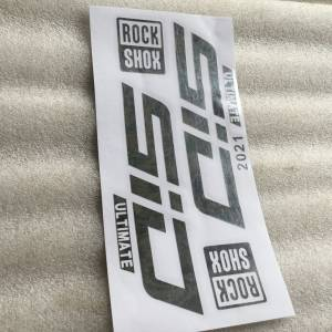 Rock Shox SID Fork Sticker 2021 | Chrome @ free pos