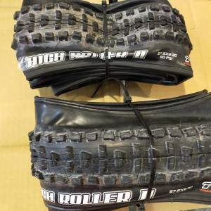 MAXXIS HIGH ROLLER 27.5X2.3 TUBLEES READY (SELL IN PAIR - 2PIECES) LAST CLEARANCE SALES