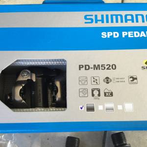 Shimano PD-M520 Clipless Pedal  -- Free courier