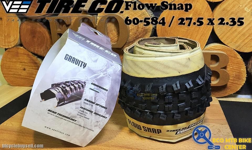 """Plegados MTB Vee Flow snap 27,5x 2.35/"""" 60-584 TL-Ready"""