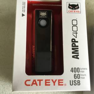 Cateye AMPP 400 Lumens Front Light @ free pos