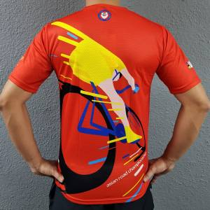 iSports UCI ARC Dri-fit TShirt Red