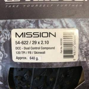 VEE TIRE CO. MISSION (29x2.1) Skin Wall (Brand New !!!)