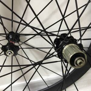 Carbon Clincher Aero Wheel Set 50mm/38mm Road Bike 700C OEM