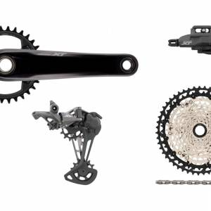 SHIMANO DEORE XT GROUPSET 1X12SP M8100 M8120 (NO BRAKESET, NO ROTOR, NO HUBSET) last set clearance