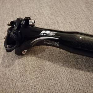 PZ Racing 31.6 x 350mm Carbon Alloy Seatpost With Carbon Seat Clamp