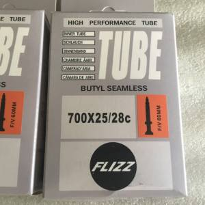 Flizz Road Tube 700 25/28c FV 60mm | High Quality