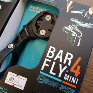 Barfly 4 Mini Mount System [Cateye , Bryton & Garmin]