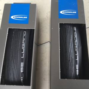 Schwalbe Lugano 2 Road Tires 700x28c - 1pair — free courier