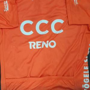 USED Jersey - Giant CCC Cycling Jersey L size