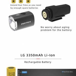 ENFITNIX 20 NEW Navi800 smart bicycle front light auto start stop| CAteye RAvemen cree headlights