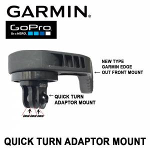 GARMIN NEW TYPE EDGE OUT FRONT EDGE 530 / 830 / 1030 NEW BARFLY MOUNT FRONT LIGHT GOPRO ADAPTOR