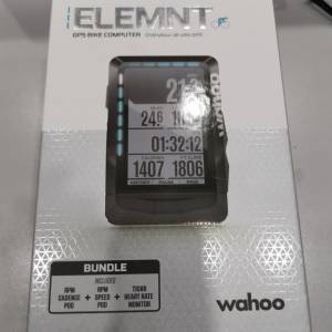 WAHOO ELEMNT GPS CYCLING METER ONLY