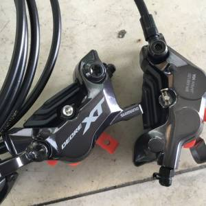 SHIMANO M8120 XT Hydraulic Disc Brake 4-Piston -- free courier