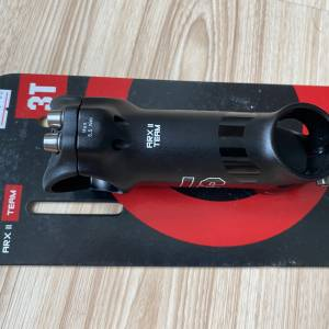 3T ARX 2 PRO SUPER LIGHT ALLOY STEM, Titanium bolt