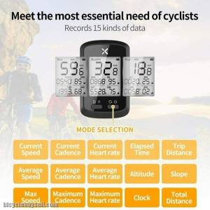NEW XOSS G+ GPS  Speedometer Cycling Computer COD ONLY BEST PRICE IN MALAYSIA