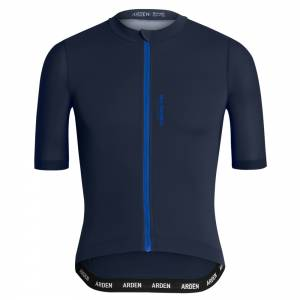 ARDEN Dried Flowers Cycling Jersey (Navy, Mint and Carrot)