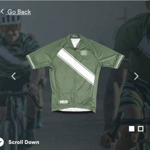 Heavy Pedal Tempo Jersey and Bib set XS