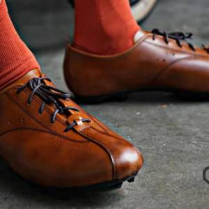 100% Handmade Vintage 1896 Cycling Shoes