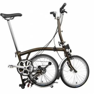 Brompton Black Lacquer M6L 2021 Colour